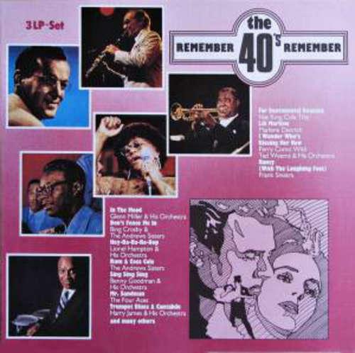 Cover Various - Remember The 40's (3xLP, Comp) Schallplatten Ankauf