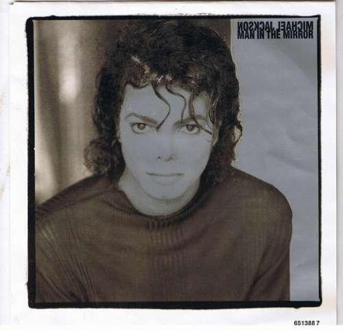 Cover Michael Jackson - Man In The Mirror (7, Single) Schallplatten Ankauf