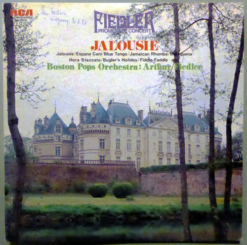 Bild The Boston Pops Orchestra, Arthur Fiedler - Fiedler Promenade Concert - Jalousie (LP, Album) Schallplatten Ankauf