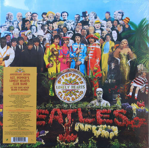 Cover Beatles* - Sgt. Pepper's Lonely Hearts Club Band (2xLP, Album, RE, S/Edition, ½ S) Schallplatten Ankauf