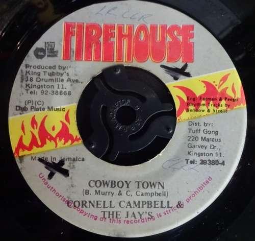 Bild Cornell Campbell, The Jays - Cowboy Town (7, Single) Schallplatten Ankauf