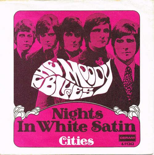 Bild The Moody Blues - Nights In White Satin / Cities (7, Single, RE) Schallplatten Ankauf