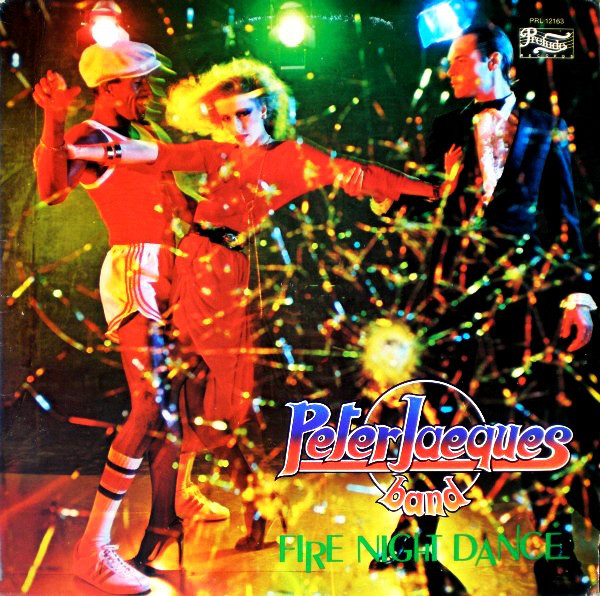 Cover Peter Jacques Band - Fire Night Dance (LP, Album) Schallplatten Ankauf