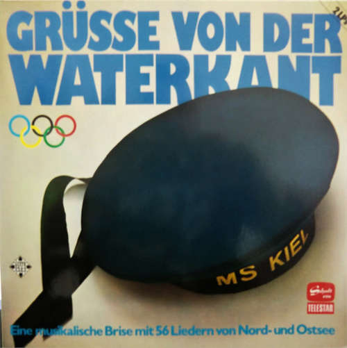 Cover Various - Grüsse Von Der Waterkant (Eine Musikalische Brise Mit 56 Liedern Von Nord-und Ostsee (2xLP, Comp, RE) Schallplatten Ankauf