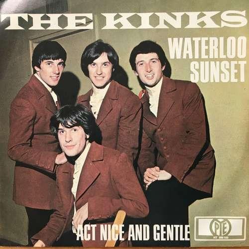 Cover The Kinks - Waterloo Sunset (7, Single, Mono, Promo) Schallplatten Ankauf