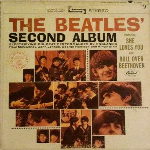 Cover The Beatles - The Beatles' Second Album (LP, Album, RE, Win) Schallplatten Ankauf
