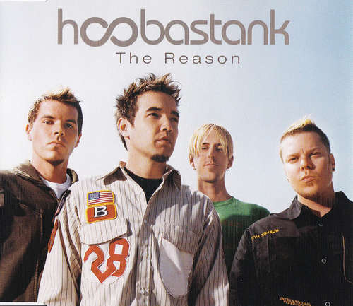 Cover Hoobastank - The Reason (CD, Single, Enh) Schallplatten Ankauf