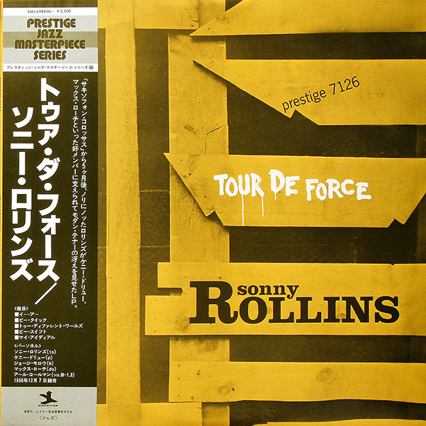 Cover Sonny Rollins - Tour De Force (LP, Album, RE, Mon) Schallplatten Ankauf