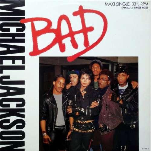 Cover Michael Jackson - Bad (12, Maxi) Schallplatten Ankauf