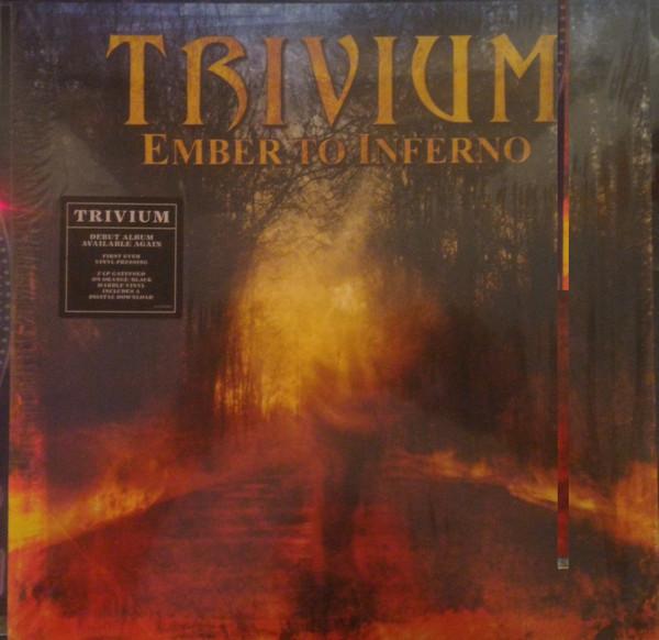 Cover Trivium - Ember To Inferno (2xLP, Album, Ora) Schallplatten Ankauf