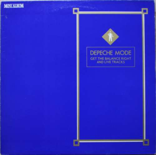 Cover Depeche Mode - Get The Balance Right And Live Tracks (LP, MiniAlbum) Schallplatten Ankauf