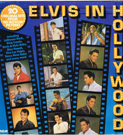 Cover Elvis Presley - Elvis In Hollywood (LP, Comp, Club) Schallplatten Ankauf