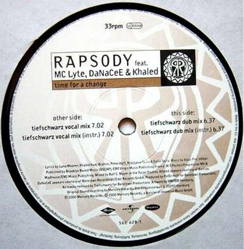 Bild Rapsody* Feat. MC Lyte & DaNaCeE & Khaled - Time For A Change (12) Schallplatten Ankauf