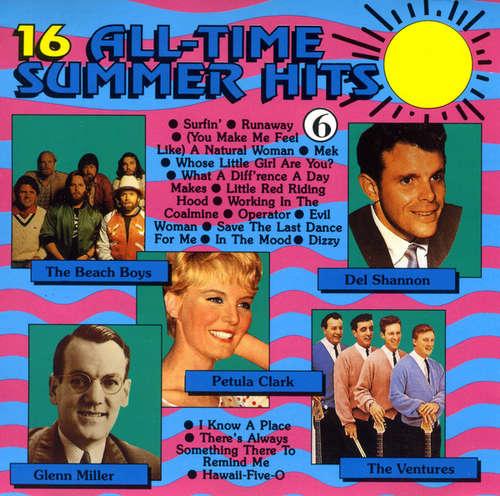 Bild various - 16 All-Time Summer Hits 6 (CD, Comp) Schallplatten Ankauf
