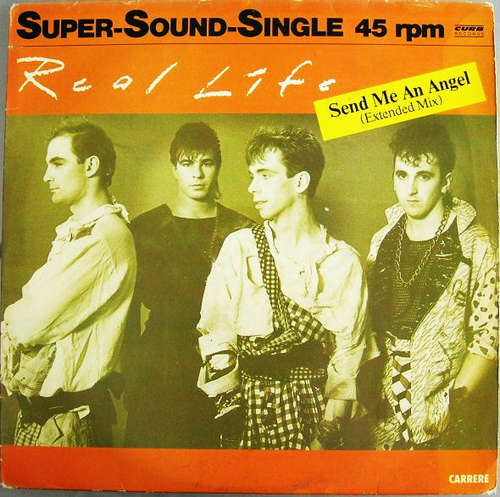 Cover Real Life - Send Me An Angel (Extended Mix) (12, Maxi) Schallplatten Ankauf