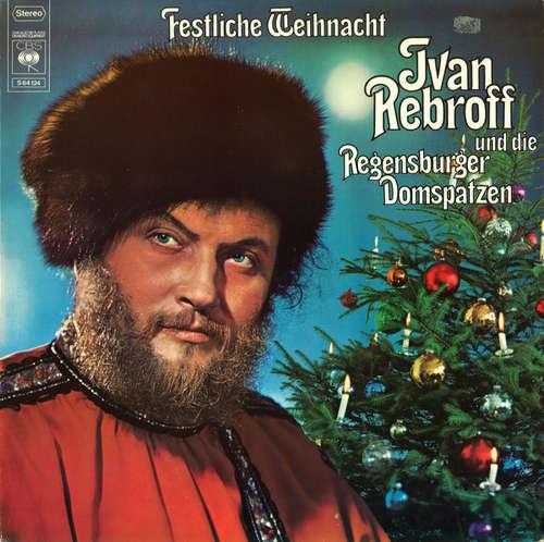 Cover zu Ivan Rebroff Und Die Regensburger Domspatzen - Festliche Weihnacht (LP, Album, Gat) Schallplatten Ankauf