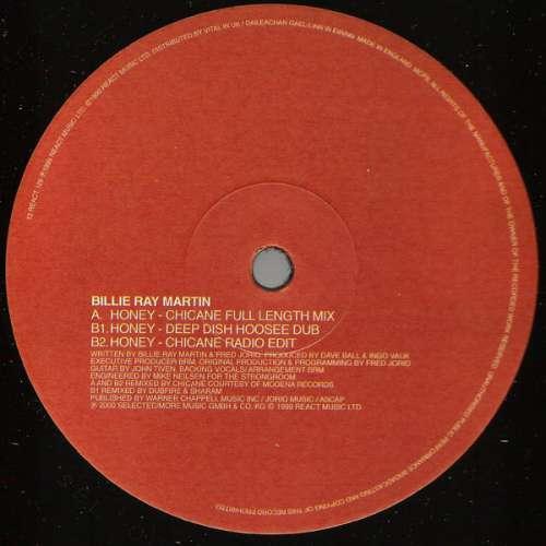 Cover Billie Ray Martin - Honey (12) Schallplatten Ankauf