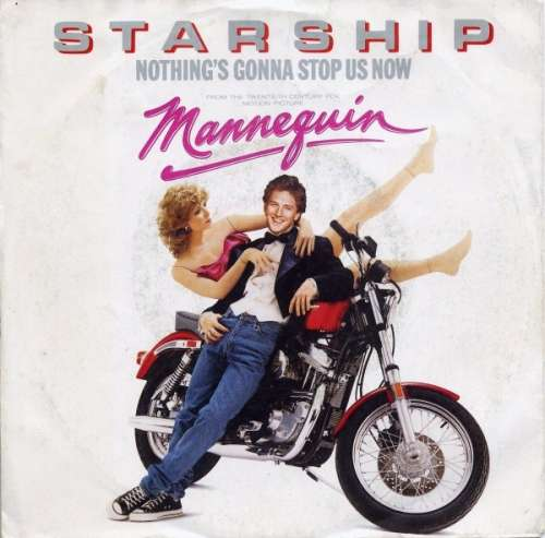 Cover zu Starship (2) - Nothing's Gonna Stop Us Now (7, Single) Schallplatten Ankauf