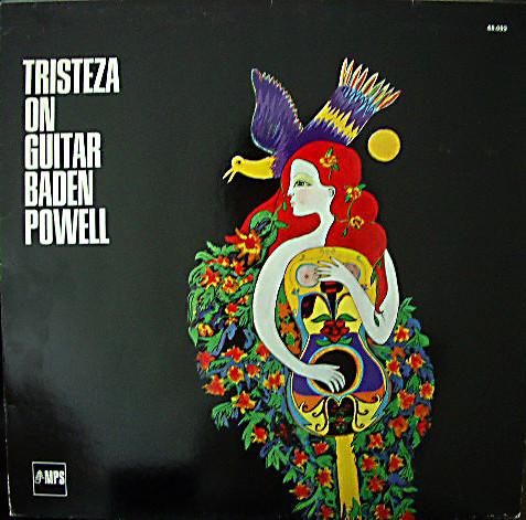 Bild Baden Powell - Tristeza On Guitar (LP, Album, RE, Gat) Schallplatten Ankauf