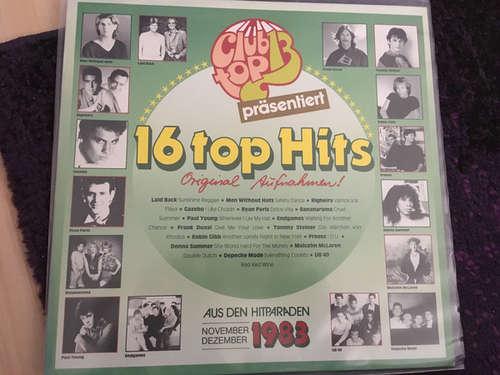 Cover zu Various - 16 Top Hits November/Dezember 1983 (LP, Comp) Schallplatten Ankauf