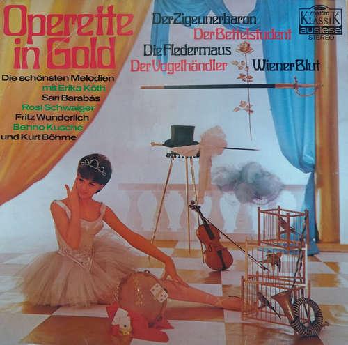Bild Various - Operette In Gold (LP, Comp) Schallplatten Ankauf