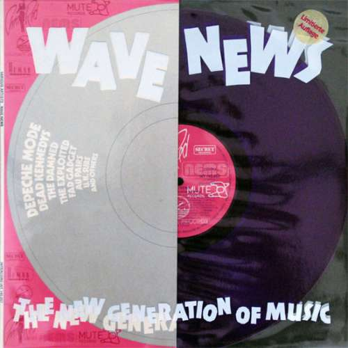 Cover Various - Wave News -  The New Generation Of Music (LP, Comp, Ltd, Vio) Schallplatten Ankauf