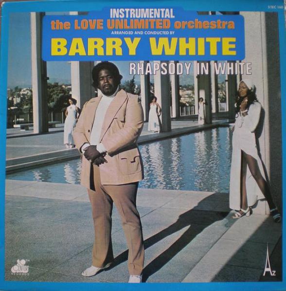 Cover The Love Unlimited Orchestra* - Rhapsody In White (LP, Album) Schallplatten Ankauf