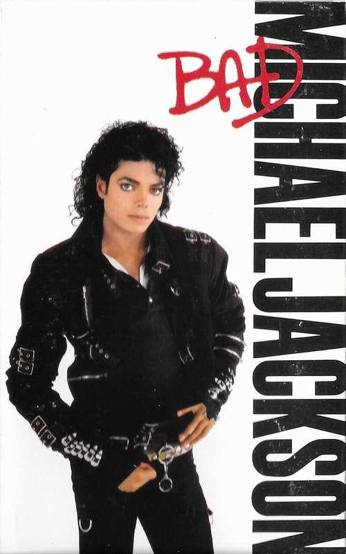 Cover Michael Jackson - Bad (Cass, Album) Schallplatten Ankauf
