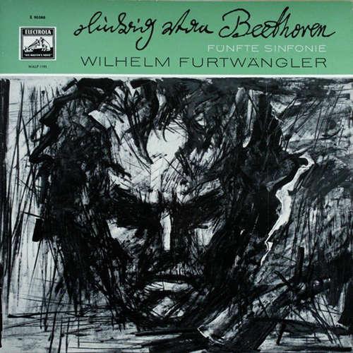 Cover zu Ludwig van Beethoven - Wilhelm Furtwängler - Fünfte Sinfonie (LP, Mono) Schallplatten Ankauf