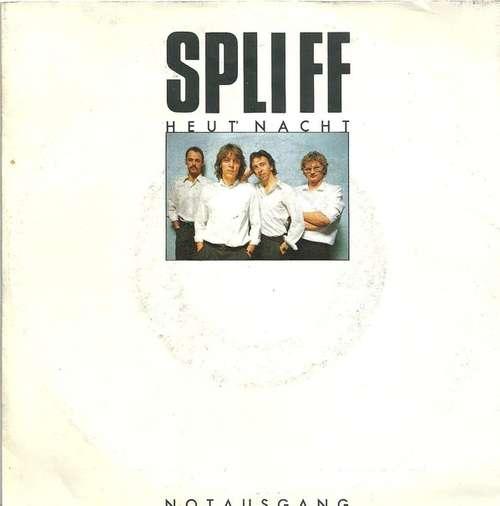 Cover Spliff - Heut' Nacht (7, Single) Schallplatten Ankauf