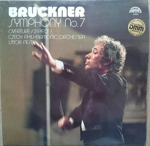 Bild Bruckner*, Czech Philharmonic Orchestra*, Libor Pešek - Symphony Nr. 7 (Overture / 3 Pieces) (2xLP, RP) Schallplatten Ankauf