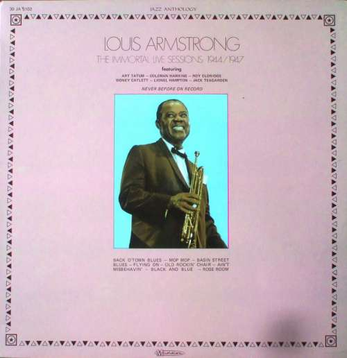 Bild Louis Armstrong - The Immortal Live Sessions 1944/1947 (LP, Comp) Schallplatten Ankauf