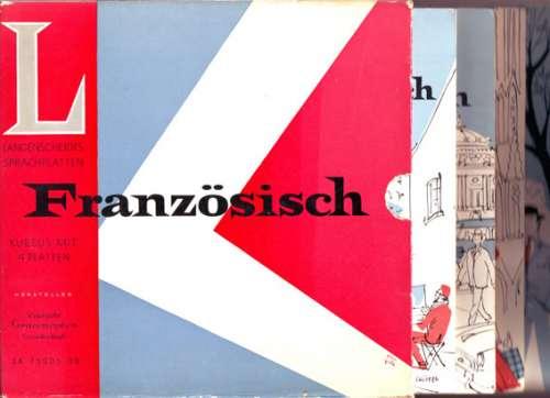 Cover No Artist - Französisch - Kursus Mit 4 Platten (4x7 + Box) Schallplatten Ankauf