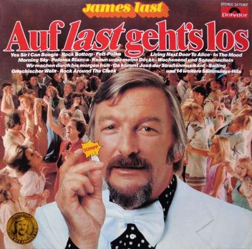 Cover zu James Last - Auf Last Geht's Los (LP, Comp) Schallplatten Ankauf