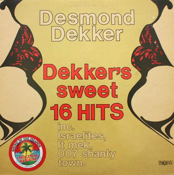 Cover Desmond Dekker & The Aces - Dekker's Sweet Sixteen Hits (LP, Comp, ora) Schallplatten Ankauf