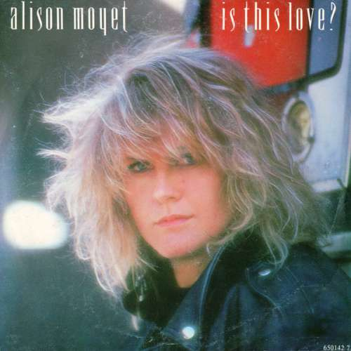 Cover zu Alison Moyet - Is This Love? (7, Single) Schallplatten Ankauf