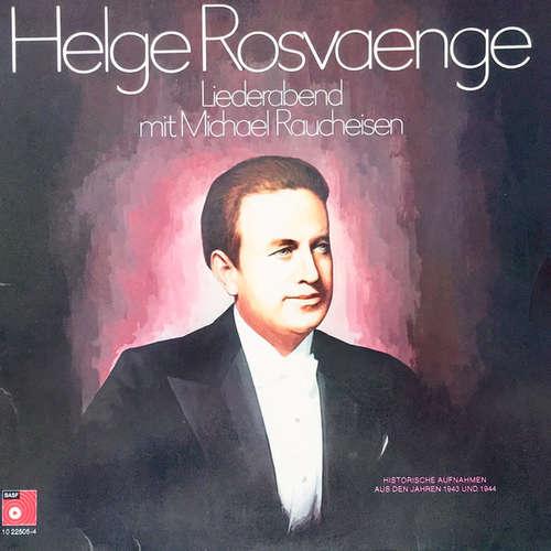 Bild Helge Rosvaenge*, Michael Raucheisen - Liederabend (LP) Schallplatten Ankauf