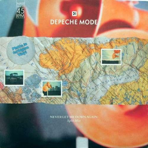 Cover Depeche Mode - Never Let Me Down Again (Split Mix) (12, Maxi, Ora) Schallplatten Ankauf