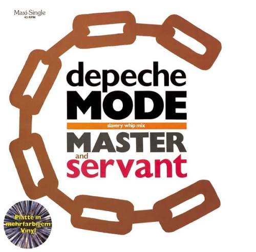 Cover Depeche Mode - Master And Servant (Slavery Whip Mix) (12, Maxi, Gre) Schallplatten Ankauf