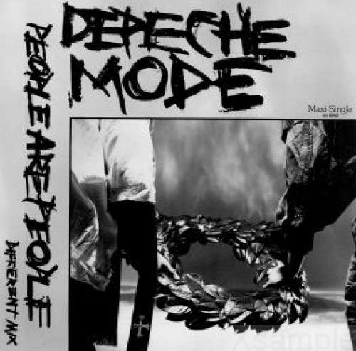 Cover Depeche Mode - People Are People (Different Mix) (12, Maxi, Gre) Schallplatten Ankauf