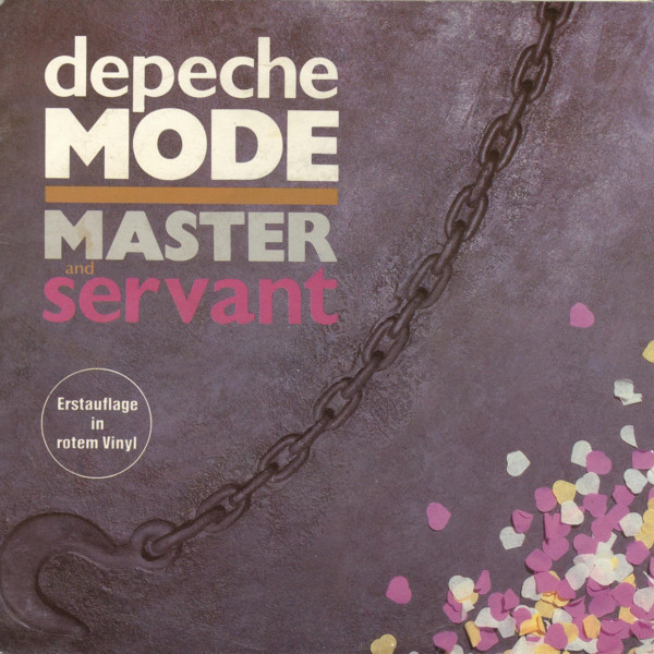 Cover Depeche Mode - Master And Servant (7, Single, Red) Schallplatten Ankauf