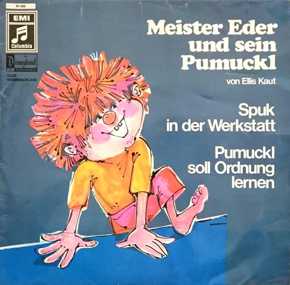Cover Ellis Kaut - Meister Eder Und Sein Pumuckl - Spuk In Der Werkstatt / Pumuckl Soll Ordnung Lernen (LP, Club) Schallplatten Ankauf