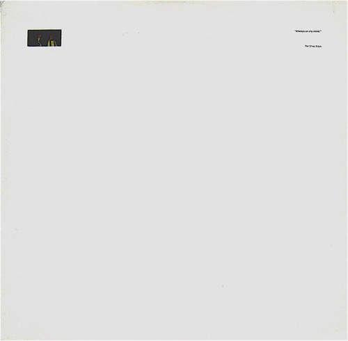 Cover Pet Shop Boys - Always On My Mind (12, Single) Schallplatten Ankauf