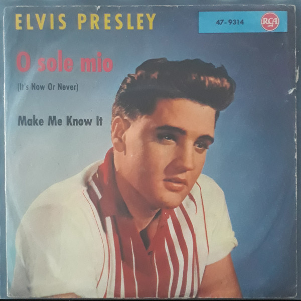 Cover Elvis Presley - O Sole Mio (It's Now Or Never) (7, Single) Schallplatten Ankauf