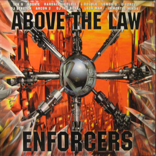 Cover Various - Enforcers (Above The Law) (3x12, Comp + Box) Schallplatten Ankauf