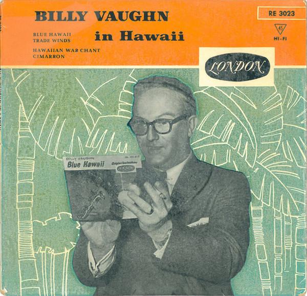Bild Billy Vaughn And His Orchestra - Billy Vaughn In Hawaii (7, EP, Red) Schallplatten Ankauf