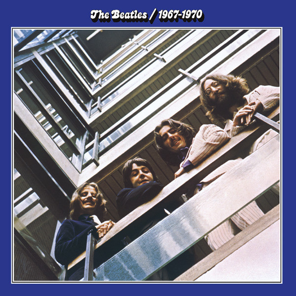 Cover zu The Beatles - 1967-1970 (2xLP, Comp, Cir) Schallplatten Ankauf