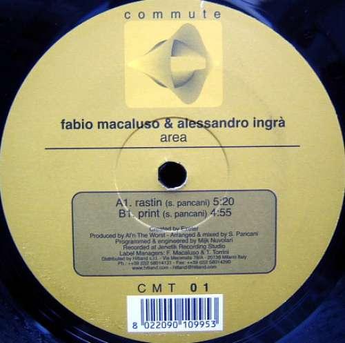 Bild Fabio Macaluso & Alessandro Ingrà - Area (12) Schallplatten Ankauf