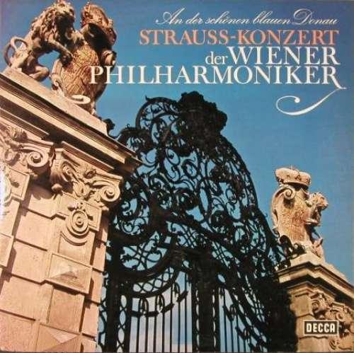 Bild Strauss* - Wiener Philharmoniker - An Der Schönen Blauen Donau - Strauss-Konzert (LP, RE) Schallplatten Ankauf
