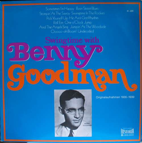 Cover zu Benny Goodman - Swingtime With Benny Goodman (LP, Comp) Schallplatten Ankauf
